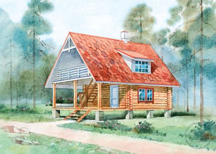 Срубы домов и бань плотники о срубах
