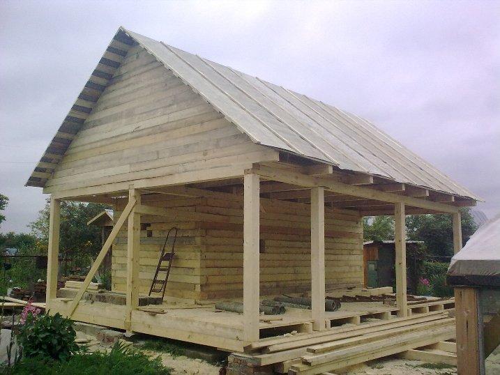 Построить дом из бруса своими руками недорого