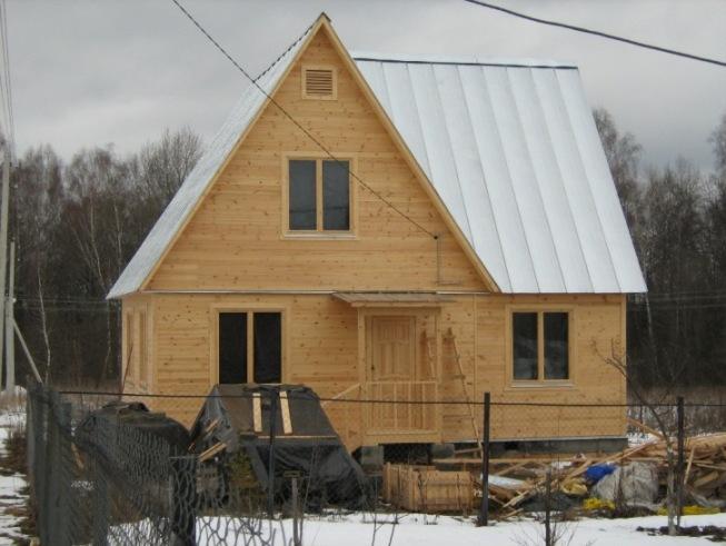 Дома строительство дачных домов из