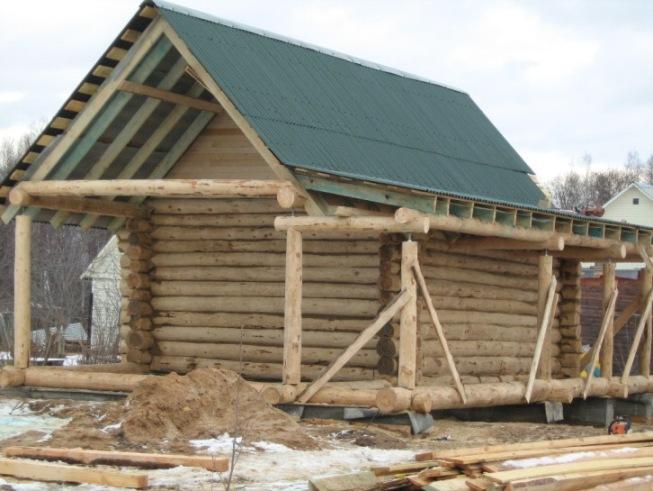 Деревянные дома из сруба это хорошая